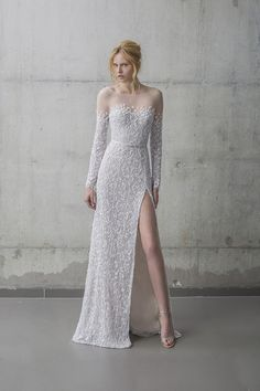 The Nissa Gown   Mira Zwillinger Stardust Collection 2016   see the full collection over on www.onefabday.com