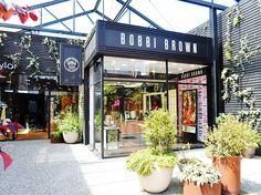 Bobbi Brown concept store in Britomart in Auckland, New Zealand