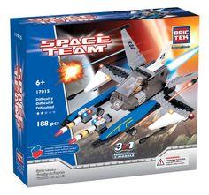 BRICTEK SPACE WARRIOR 3 IN 1