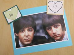 36 Paul McCartney, musician and 37 Ringo Starr, musician