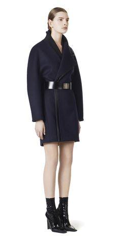 Balenciaga Double Lapel Wrap Coat for Women Luxe Life, Wrap Coat, Navy Women, Coats For Women, Balenciaga, Women's Coats, Boutique, Luxury, Collection