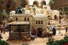 Our nativity scenes - Oscar Wallin Ancient Egypt Art, Ancient Ruins, Sand House, Christmas Nativity Scene, Nativity Scenes, Free To Use Images, Game Concept Art, Architecture Old, Miniature Houses
