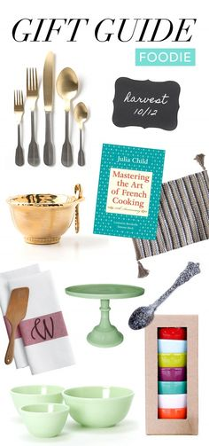 Gift Guide: Foodie | www.theglitterguide.com