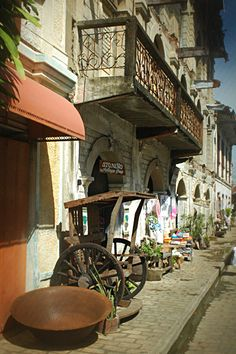 Manila, Intramuros - A bit of a different world within busy Metro Manila. ( Nearby is the Department of Immigration )