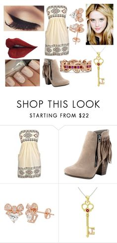 """Azura Outfit 1"" by phantomess13 ❤ liked on Polyvore featuring Breckelle's"