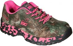 Realtree Girl Rattler hot pink xtra green camo shoes | women for 2016