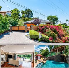 Grand living at its FINEST! This special listing @ 27339 Eastvale Rd, Palos Verdes Peninsula 90274 will knock your socks off!  It has 5 bedrooms, pool with a waterfall, city and mountain views, big tree with a swing, lanai area and a huge driveway able to park 5 to 6 cars.