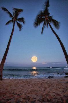 Honols Beach, Kailua-Kona, Hawaii