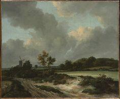Grainfields  Jacob van Ruisdael  (Dutch, Haarlem 1628/29–1682 Amsterdam)