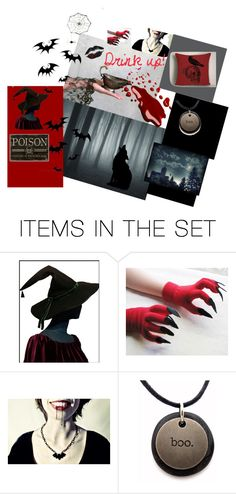"""Drink Up!"" by putterpaws ❤ liked on Polyvore featuring art"