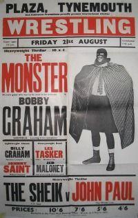 50's wrestling poster