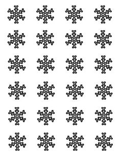 FREE FOR YOU...SNOWFLAKE TEMPLATES FOR ROYAL ICING- SNAG 'EM NOW!!!!