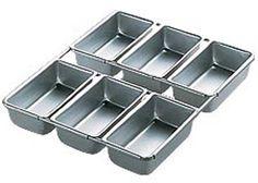 Wilton 6-Cavity Mini Loaf Pan
