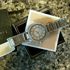 Michael Kors Accessories - Michael Kors Kerry bracelet MK Glitz watch MK3311