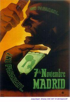 Spain - 1937. - GC - poster - autor: Josep Espert - Briones