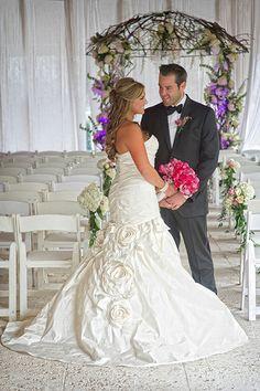 Rachel Golden + Joshua Shapiro's Jupiter Beach Resort wedding | Photography: Jeff Kolodny