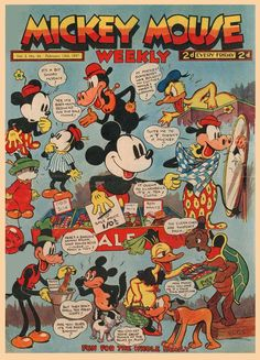 Mickey Mouse Weekly (UK) Feb 13th, 1937