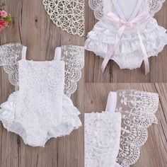 32 Trendy Ideas Sewing Baby Girl Gifts Kids - Baby Girl Dress - Ideas of Baby Girl Dress Baby Girl Romper, Baby Girl Gifts, Baby Girl Dresses, Baby Dress, Baby Outfits, Newborn Outfits, Kids Outfits, Baby Clothes Patterns, Baby Kids Clothes