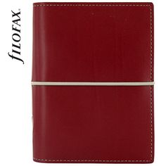 Filofax Domino Pocket Red