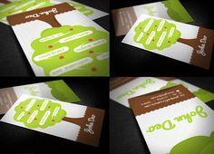 Creative Tree Business Card