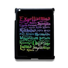 Harry Potter Spelling Quotes TATUM-5144 Apple Phonecase Cover For Ipad 2/3/4, Ipad Mini 2/3/4, Ipad Air, Ipad Air 2