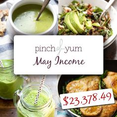 Income Report Totals for May | http://pinchofyum.com