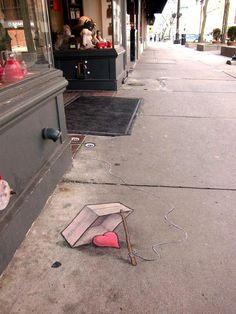 Pintura en la calle.