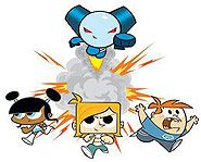 old cartoon network characters | Robotboy is one of Cartoon Network's highest rated shows.