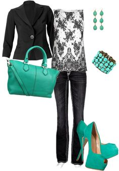 """Turquesa"" by susy-adame on Polyvore"