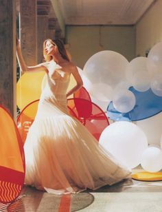 Photography by Tim Walker for Vogue Nippon (October 2009).