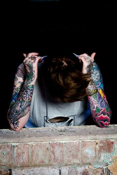 Isobel photographed by Adam Sendall on Behance #tattoo