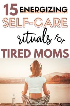 Does doing all the things as a busy mom leave you with no energy and no time for self-care? Check out this list of energizing and invigorating self care ideas for busy moms who need a break! Personal Wellness, Personal Goals, All About Mom, Best Meditation, Tired Mom, Stress Relief Tips, Quotes About Motherhood, If You Love Someone, Self Care Routine