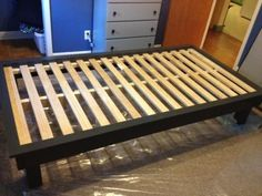 Hailey platform bed for teenager | Do It Yourself Home Projects from Ana White                                                                                                                                                                                 Mais