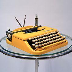 old school typewriters // fab