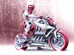 sketch moto