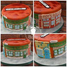 Coronation Street Cake Birthday Rovers Return Roys Rolls Cobbles from www.bluestarbakes.co.uk