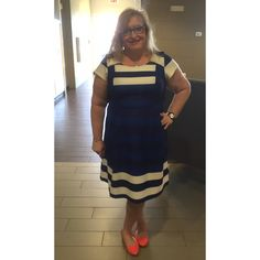 Robbie Bee dress and Steve Madden shoes