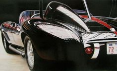 Photo-Realistic Muscle Car Paintings by Cheryl Kelley
