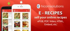 Sell your online recipes is completed app template in native source code for android and ios, which helps you build a great platform to sell your digital online recipes. Sticky Chicken, Online Recipes, Selling Online, Ios App, Android Apps, Platform, Coding, Templates, Digital