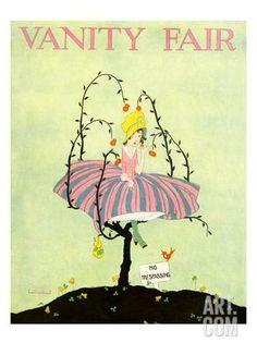 Vanity Fair Cover - September 1916 Regular Giclee Print by L. A. Morris at…