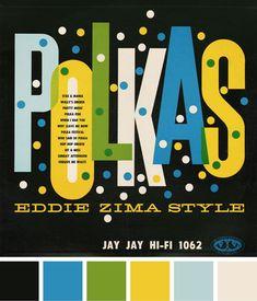 *~* vintage record jacket, via DesignWorkLife via Project Thirty-Three