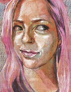 Knit Painting: KrisFaith Humphrey Hill http://www.dartily.com/blog/2018/8/8/knit-painting-kris
