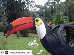 Check out what my uncle does with #gokart tires! Please follow his new account to see more projects @way_beyond_art  #Repost @way_beyond_art with @repostapp.  The tucan - made from 100% recycled tires --- #patio #art #arte #tires #tire #pneu #artecompneu #artwithtires #miami #wynwood #sustainability #sustentabilidade #teresópolis #riodejaneiro #miami #muitoalemdaarte #waybeyondtheart #eco #ecofriendly #green #recycle #reciclar #moveis #mobilario #outdoor #tucan #tucano Re-post by Hold With…