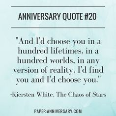 Write an unforgettable anniversary card with these 20 romantic, inspiring anniversary quotes for him. Tell your husband how much you love him!