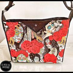 Le petit fil savoyard sur Instagram: Un nouveau sac pour m'accompagner tous les jours. 💖🥰💖 J'adore ce modèle. C'est un #mambo de @patrons_sacotin La bouclerie vient de…