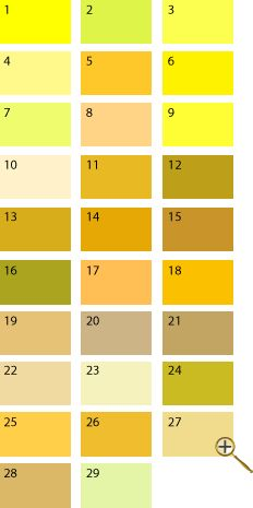 Yellow shades for spring Bright Spring, Warm Spring, Spring Colors, Mustard Yellow Outfit, Color Type, Seasonal Color Analysis, Vash, Exterior Paint Colors, Shades Of Yellow