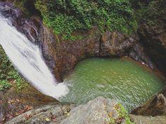 Cascada de arriba del salto curet , rio bucarabones carr#425. Indiera fria en maricao puerto rico.