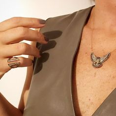 Eagle Necklace by PS ONE