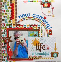 New Camera - Doodlebug - Scrapbook.com