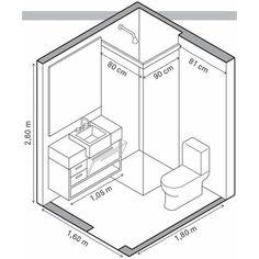 medidas bano pequeno plantas de banheiros quadrados 2 ideias para o banheiro